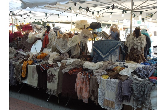 Parisian Style Scarves at Solihull French Market